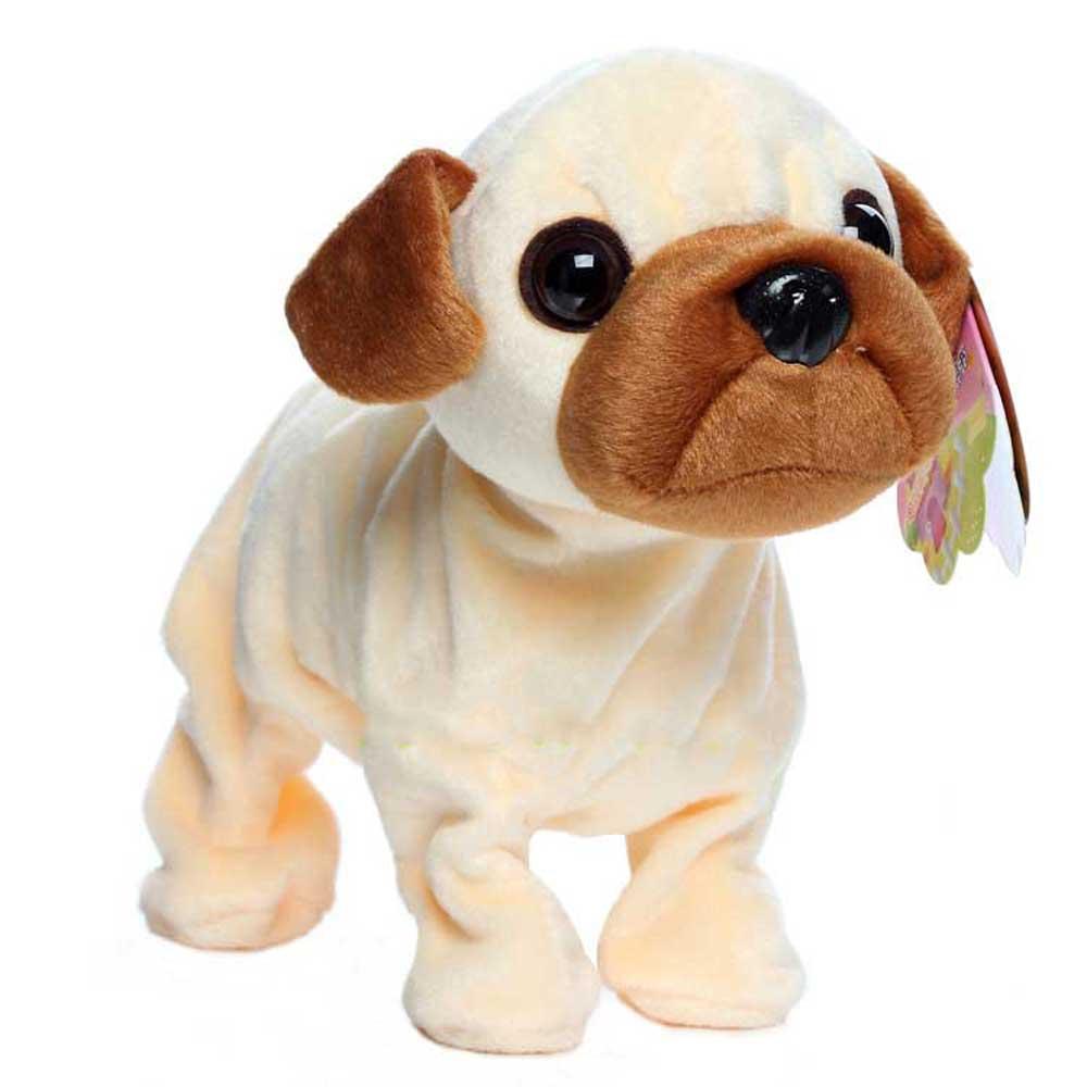 Robot Dog Electronic Dog Interactive Toy Sound Control Puppy Pet Walk Bark Kids Gift Plush Husky Pet Toys For Children цена