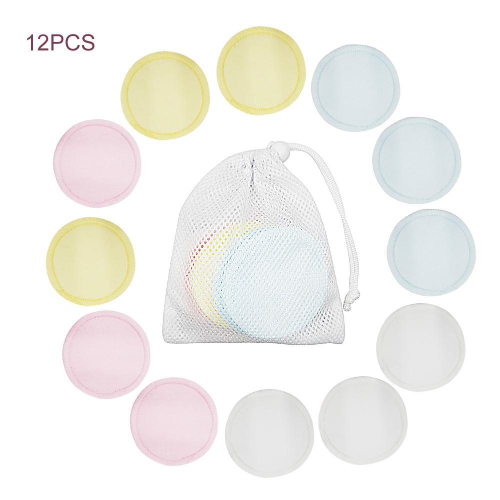 Средство для снятия макияжа многоразовые ватные накладки средство для снятия макияжа для лица двухслойные подушечки для дизайна ногтей чистящие прокладки моющиеся