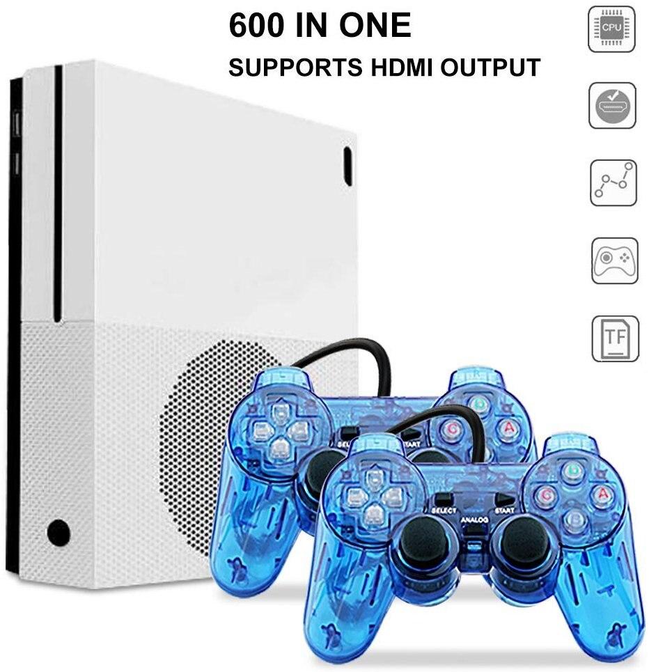 Portable Spielkonsolen 2018 Hd Tv Spielkonsolen 4 Gb Video Spielkonsole Unterstützung Hdmi Tv Out Eingebaute 600 Klassische Spiele Für Gba /smd/nes/fc Format Unterhaltungselektronik
