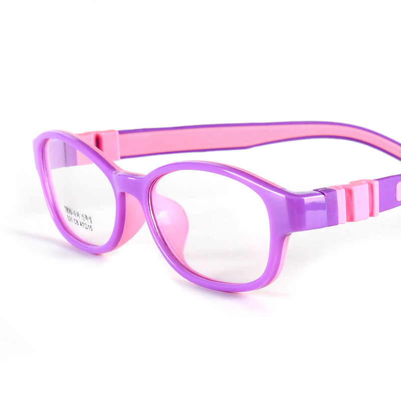chashma brand silicone eyelasses kids flexible rubber glasses frames for girls and boyschina