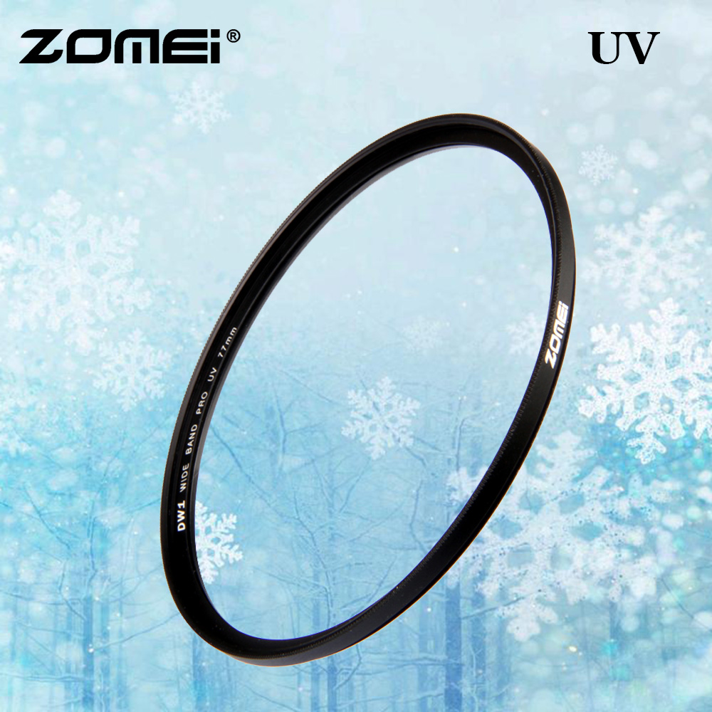 Zomei Original Camera UV Filter UltraViolet Protecting Filter For Canon Nikon Sony 49mm 52mm 55mm 58mm 62mm 67mm 72mm 77mm 82mm image