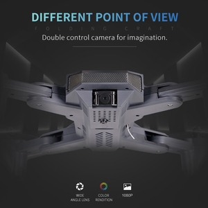 "Image 4 - Visuo XS816 מל ""טים 4k מקצועיות מסוק WiFi FPV אופטי זרימת מיצוב מתקפל כפולה מצלמה Selfie RC Quadcopter Dron"