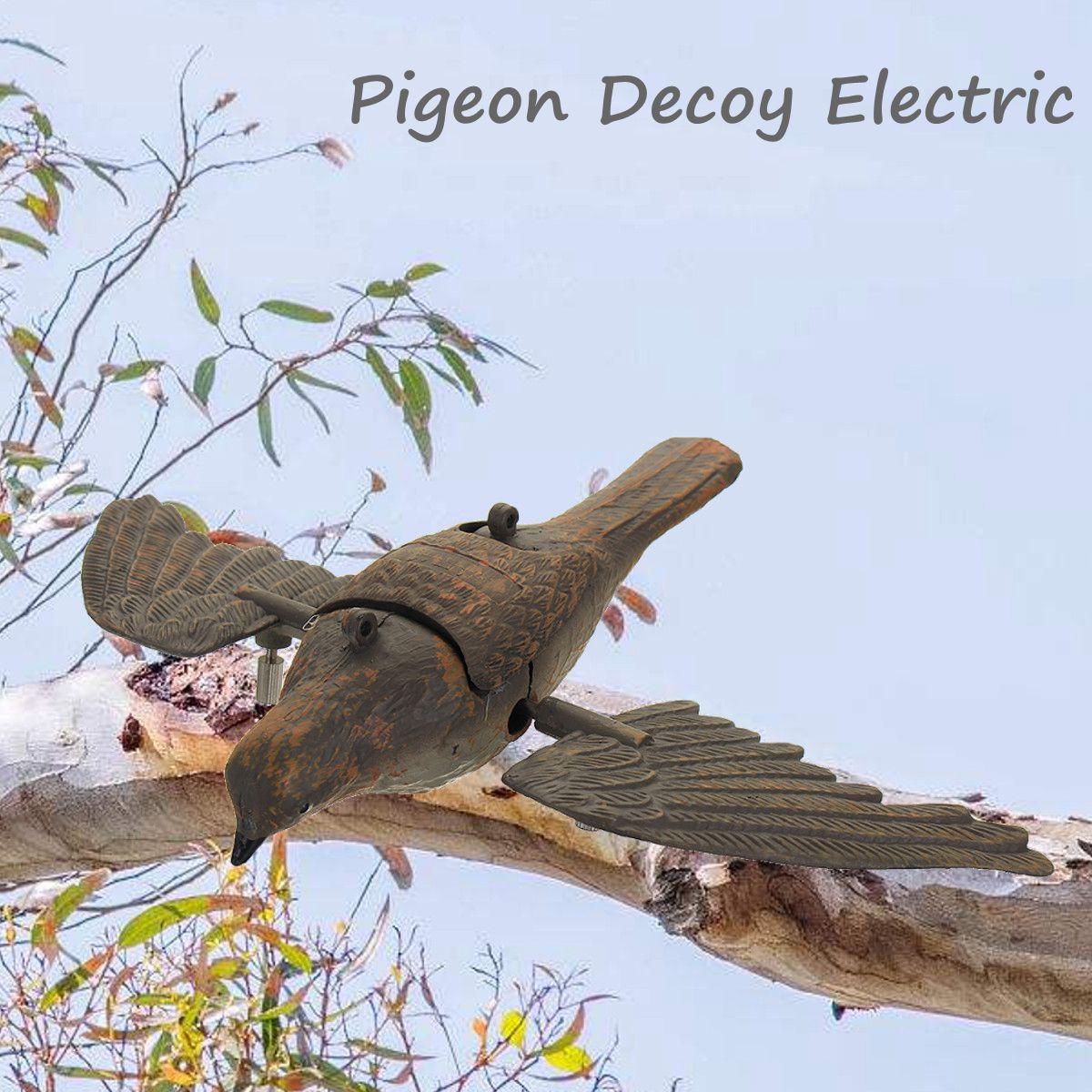 Simulation Pigeon PE Outdoor Field Hunting Engine Birds Decoy Motorized Bird Decoy Practice Garden Decoration Hunting Decoy our garden birds