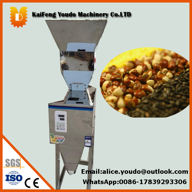 Grain/Pellet/Powder/mung filling machine,Seed grinder/milling machine new type 1 25g tea weighing machine grain medicine seed salt packing machine powder filler
