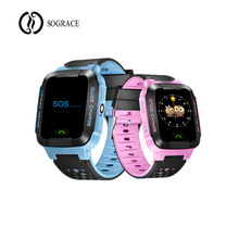 Azul Rosa Relógios Inteligentes G21 Crianças Meninas Meninos GPS Smartwatch relógio Inteligente Android Telefone 2g Relogio para Crianças Cedo inclinada Presente