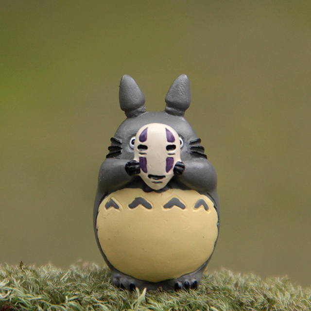 Studio Ghibli Miyazaki Hayao My Neighbor Totoro Cosplay No Face Men Figures Toys Totoro PVC Action Figure Collection Model Toy