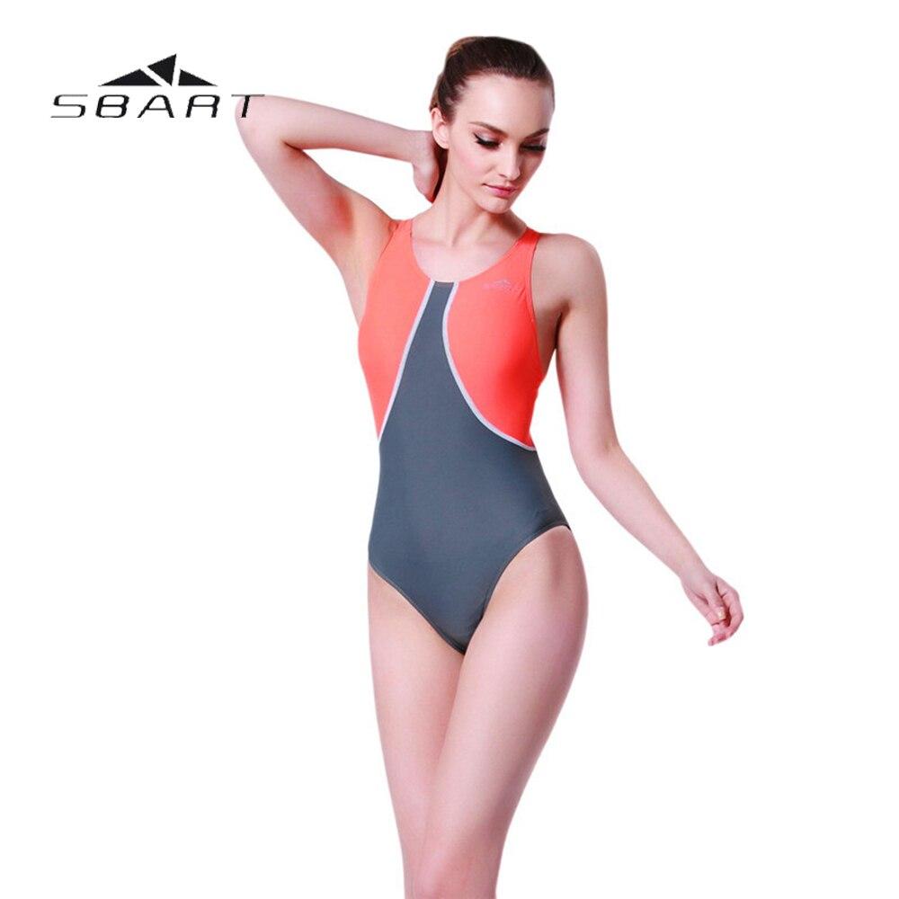 SBART Swimwear Women 2017 Professional Swimsuit Backless Swimsuit Backless Swimsuit Bathing Suits Plus Size Swimwear sbart upf50 806 micai