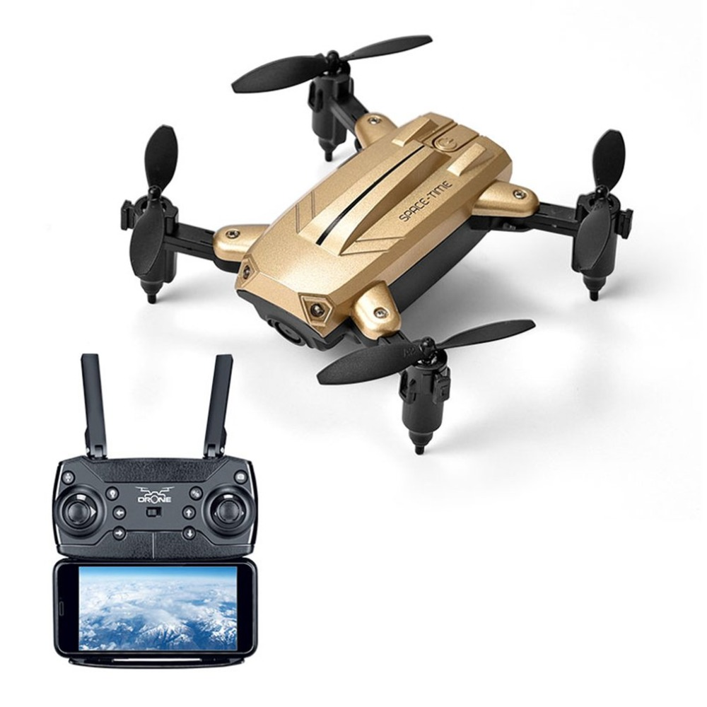 KY301 2.4Ghz Foldable RC Quadcopter Drone Aircraft With 30W Camera Real-time Altitude Hold Headless Mode 3D Flip LED Control