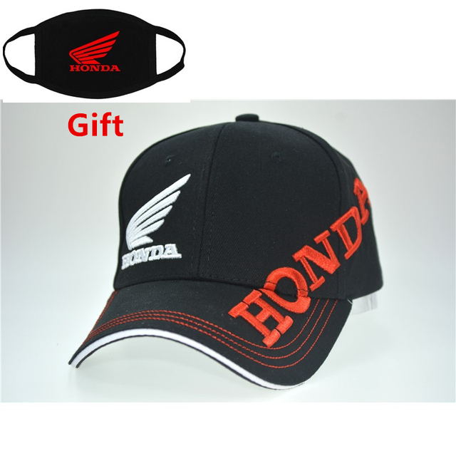 Mask as Gift Moto GP honda racing team baseball cap motorcycle men women  adjustable embroidered hip hop dancer sun cap dad hat 3f97bfee422
