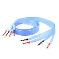 Free shipping moonsaudio Nordost Blue Heven audio speaker cable loudspeaker cable with banana plug connector