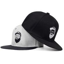 2018 Original nuevo gris fresco hip hop gorra de las mujeres de los hombres  sombreros vintage bordado carácter gorras de béisbol. b76c18116a2