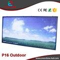 P16 RGB Full Color Vídeo LED Do Painel de Publicidade ao ar livre Tamanho 2 m x 1 m Alibaba expressar Quantidade de Parede