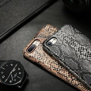 Image 3 - Retro Snake Case For iPhone 7 8 X/XS Max XR 6 6S Cases For iPhone 5/6/6S/7/8 Plus Cover Serpiente Fundas Hard PC Phone Case
