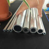 1Pcs 2.8mm-6mm Inner Diameter Aluminum tube alloy Hollow AL rod hard bolt pipe duct vessel 300mm L 8mm OD