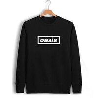 Rock Music UK British Emoji Letter Punk Print Fleece Sweatshirt Winter Pullover Sweat Shirts Printed Sweatshirts Clothes Jumpers