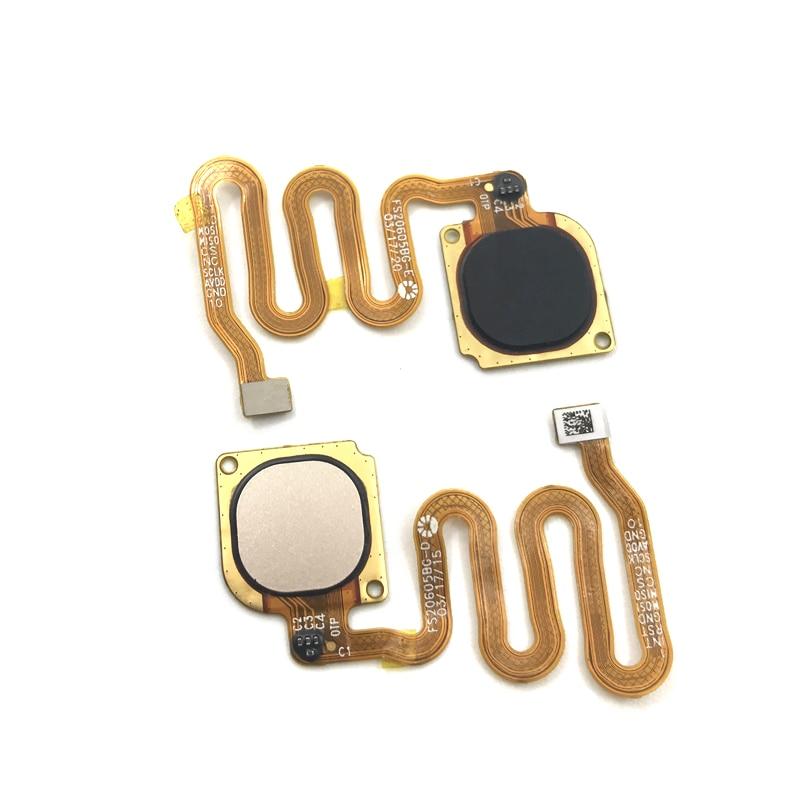 2 Color Fingerprint Sensor Home Return Key Menu Button Flex Cable For Huawei Honor 6c Pro Replacement Parts