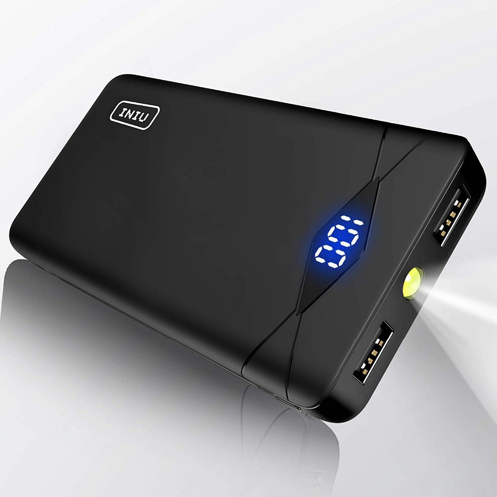 Workmanship Reasonable Iniu 10000mah Led Display Power Bank 2.4a 2 Usb Portable Charger Powerbank For Xiaomi Mi Phone External Battery Pack Poverbank Exquisite In