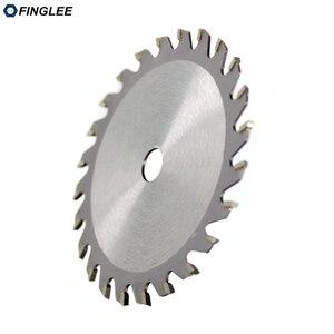 Image 2 - FINGLEE 1Pc 85mm TCT Houtbewerking Mini Cirkelzaag Blade Acryl Plastic Snijden Blade Algemene Purpose voor Hout