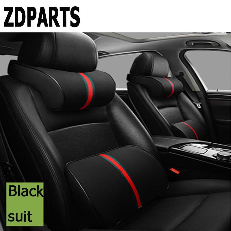 ZDPARTS Cou De Voiture Lombaire Oreiller Trois Couleurs Primaires Appui-Tête Pour BMW E46 E39 E60 E90 E36 F30 F10 X5 E53 E34 E30 Mini Cooper Lada