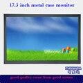 Zhixianda 17.3 дюймов HDMI hd ЖК-монитор металлический монитор вход HDMI/BNC/VGA/AV/USB с 1920*1080 пикселей