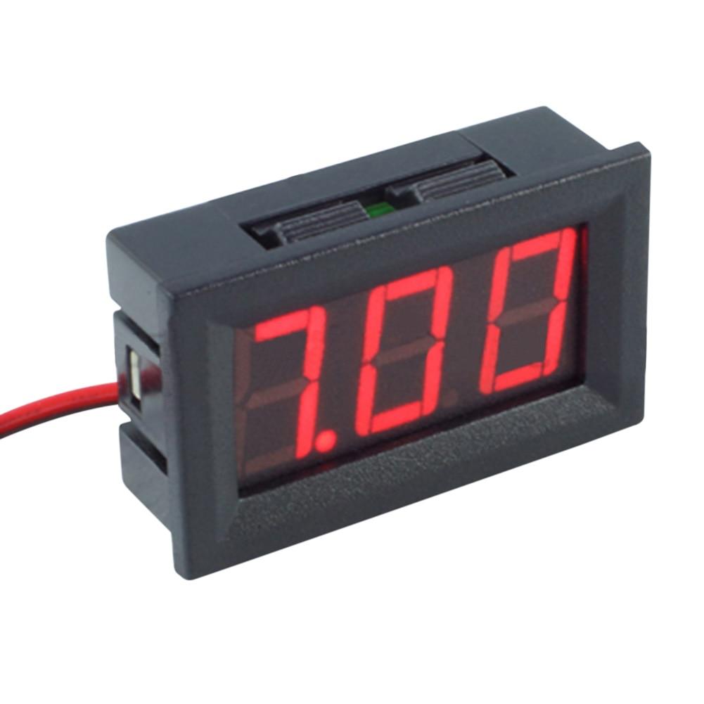 Skaitmeninis nuolatinės srovės voltmetro ampermetras 0.56 colių - Matavimo prietaisai - Nuotrauka 5