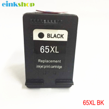 einkshop 65 Compatible Black Ink Cartridge Remanufactured For HP XL 65XL DeskJet 3720 3722 3723 3732 3752 3755 3758 Printer