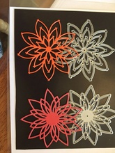 2pcs Hollowed Flowers Frame Metal Cutting Dies for Scrapbooking DIY Photo Album Card Making Decorative Stencil New 2019