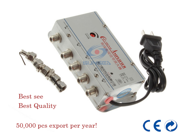 Broadcast video equipment reviews online shopping for Amplificador tv cable coaxial