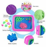 500g Kinetic Dynamic Educational Sand Amazing DIY Indoor Magic Play Sand Children Toys Mars Animal Flower