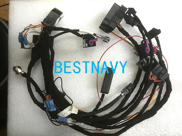 BMW Wirings harness with CAS Emulator tester for BMW CCC CIC NBT EVO navigation systems power on bench all in one