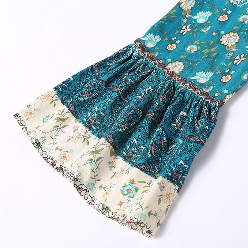 HTB19fXEmTnI8KJjSszbq6z4KFXaS - Spring NEW Boho Dress Chic Floral Print Mini Dresses V-neck Hippie Women Dresses 2018 Casual Bohemia Brand Clothing XXL with Belt