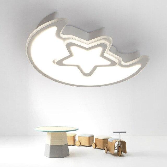 modern kids lighting. Modern Kids LED Remote Control Ceiling Lights Living Room Bedroom Children Lamps Decor Home Lighting L