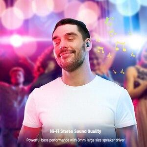 Image 3 - DACOM K6H Pro Bluetooth אוזניות מיקרופון מובנה אמיתי אלחוטי סטריאו אוזניות ב אוזן מיני אוזניות עבור iPhone xiaomi סמסונג
