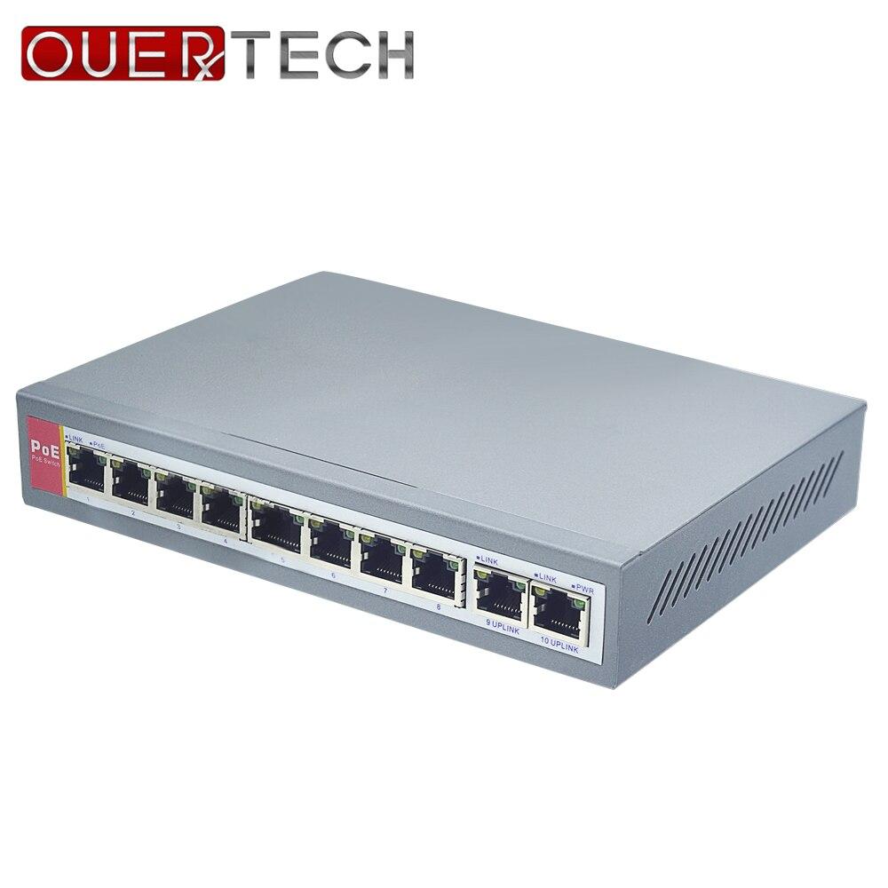 IEEE802.3af 8 + 2 ports commutateur PoE pour caméra IP puissance sur Ethernet PoE et Transmission optique pour système de caméra IP commutateurs réseau-in Transmission et câbles from Sécurité et Protection on AliExpress - 11.11_Double 11_Singles' Day 1