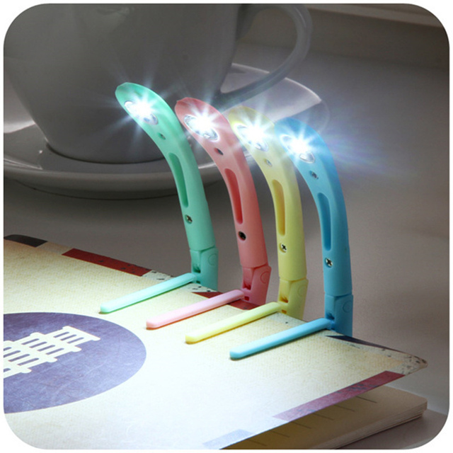 online shop hot mini opvouwbare led leeslamp met klem slaapzaal