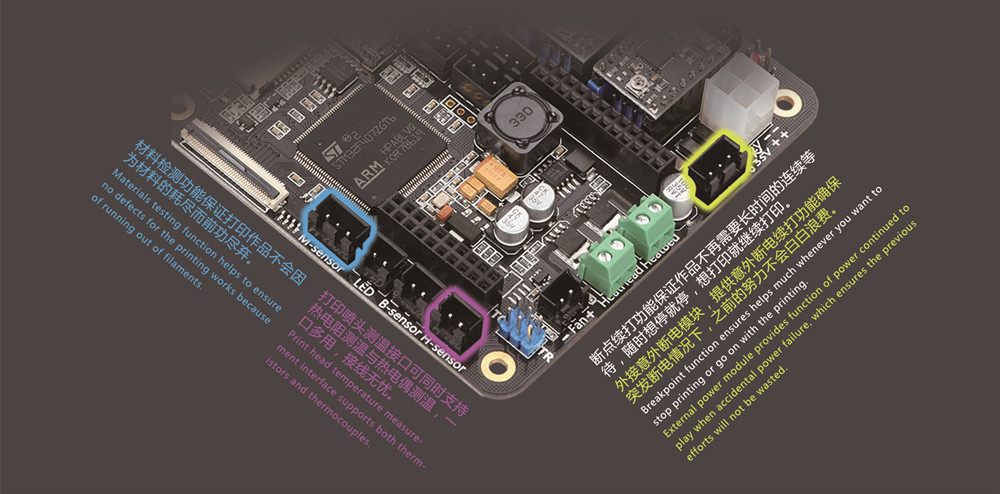 touchscreen board detail 9