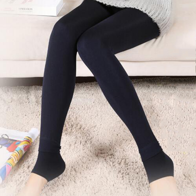 In Quality 2018 New Autumn And Winter Plus Velvet Thickening Leggings Woman Thin Outer Clothes Step On Opponents Keep Warm One Excellent