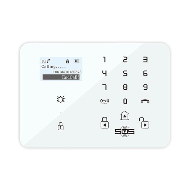 GSM Alarm Garage Android Wired Alarm Russian Outdoor Wireless Motion Sensor for Elder DM-100 Door Dector Alarm King Pigeon K9I
