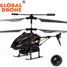 Original WLTOYS S977 3.5 Ch Metal Radio Control Gyro Rc Helicopter with Video Camera free shipping