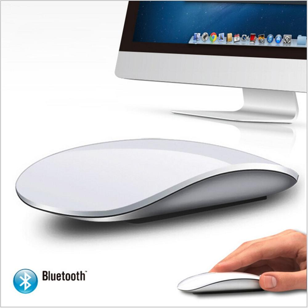 Bluetooth Magic Slim Touch Mouse 1200 DPI Computer Mause Rechargeable Gaming Mouse For MacBook For Air/proFor PC Laptop Desktop