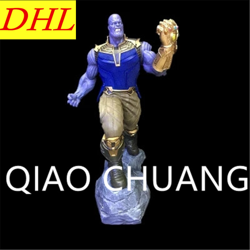 Avengers:Infinity War Supervillain Guardians Of The Galaxy Thanos PVC Action Figure Model Toy G1140