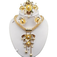 big discount african gold fine jewelry sets wedding jewelry sets women necklace new design wholesale price jewelry