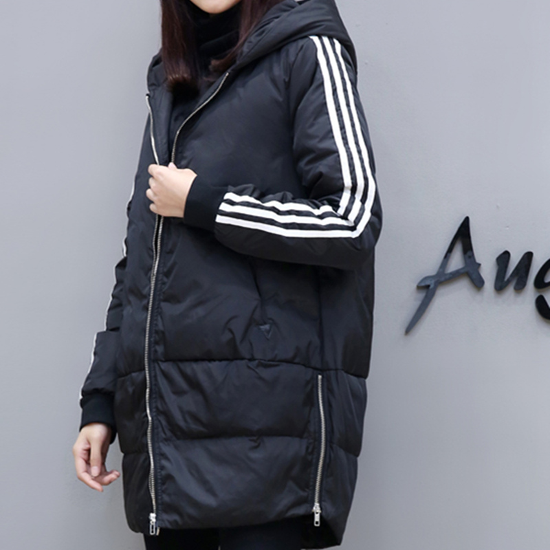 2017 women winter hooded coat female big size 4XL 5XL outerwear jacket ladies long cotton padded parka chaqueta feminino 0728 2017 hooded women winter coat jacket female big size outerwear ladies jacket long cotton padded parka chaqueta feminino c3532