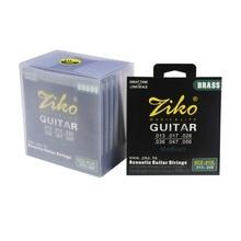 013 056 ZIKO brass acoustic guitar strings PURE COPPER strings guitar parts font b musical b