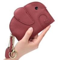 Creative women wallet Elephant shape Coin Purse Women's purse Cute girl wallets mini bag small bag coin wallet pouch