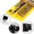 [Repartos estupendos] precisión 45 En 1 Herramienta del Destornillador Torx MIni Magnética herramientas de mano Kit de Reparación de Apertura Phone Tools