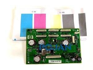 Image 3 - 2 stücke x CK837 67005 Fir für Designjet T620 T770 T790 T795 T1120 T1200 T1300 T2300 Wagen PCA Board POJAN