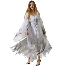 Adult Woman Halloween Corpse Ghost Bride Costume Scary Fancy  Joker Ou