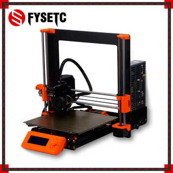 1 Set Complete DIY Clone Prusa i3 MK3 3D Printer Full Kit Alloy Frame Profile Rod Magnetic HeatBed EinsyRambo Board Motors Kit - DISCOUNT ITEM  13% OFF All Category