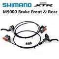 SHIMANO DEORE XTR M9000 Тормоз MTB ICE-TECH левый и обтягивающий 900/1600 мм XTR тормоз Горный велосипед XTR hidraulic дисковый тормоз
